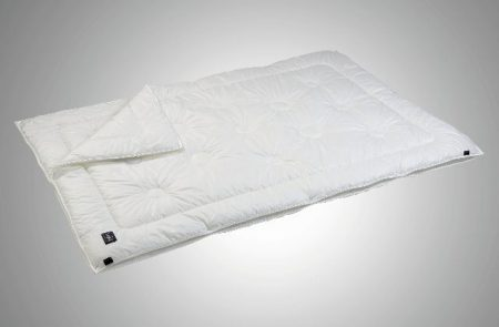 Decke passt sich der Körpertemparatur an